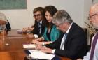 Ministro Eyzaguirre y Colegio de Profesores firman declaración de acuerdo de Agenda Corta