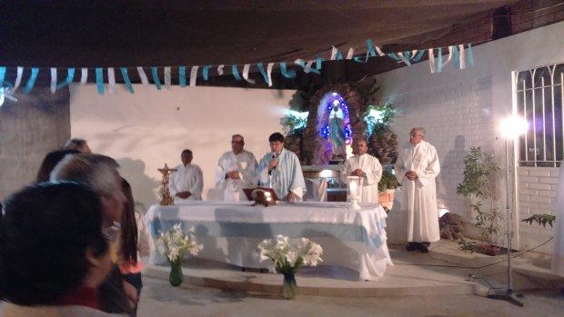 Construyen Santuario de la Virgen de Lourdes en Arica
