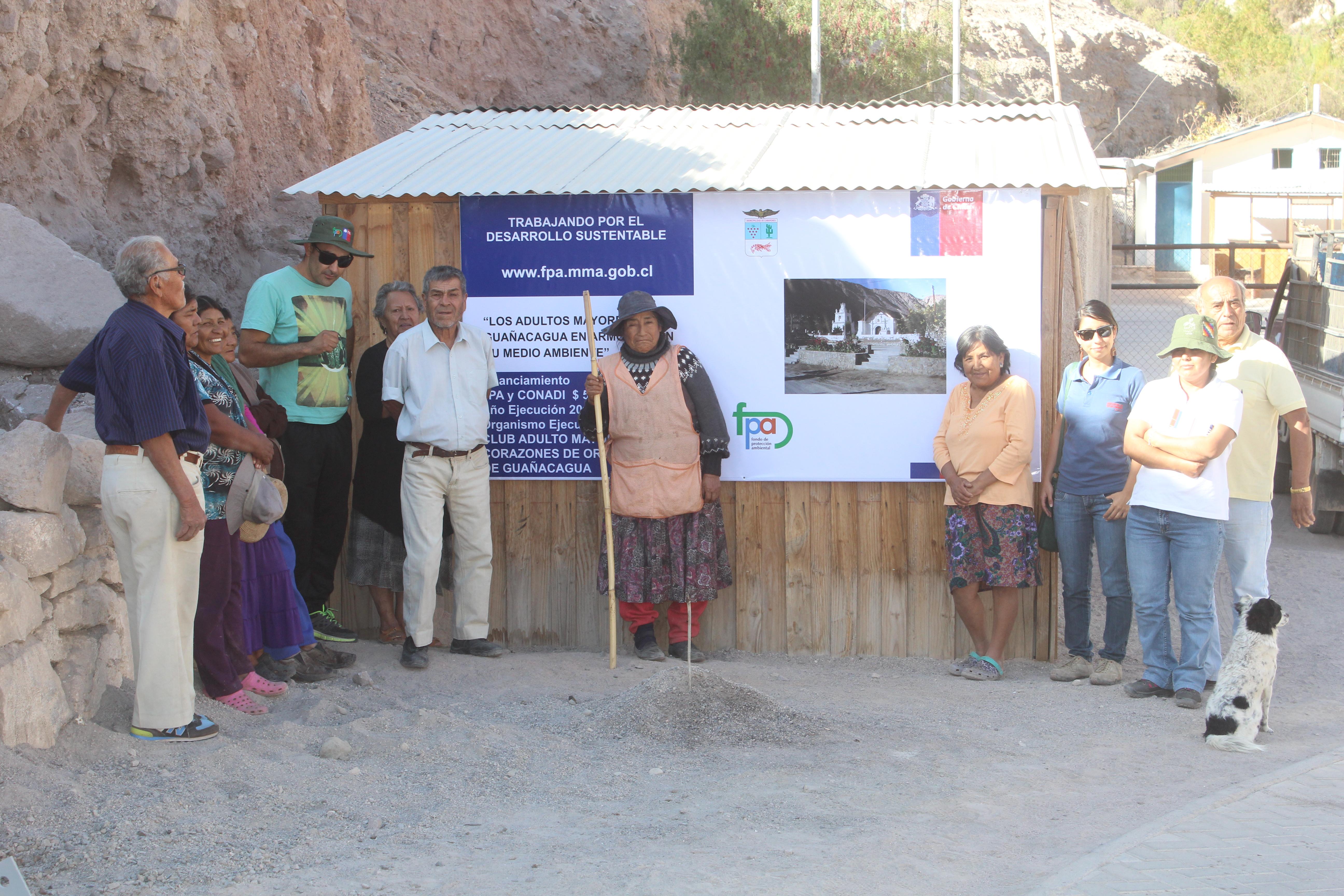 Los Adultos Mayores de Guañacagua en Armonía con su Medio Ambiente