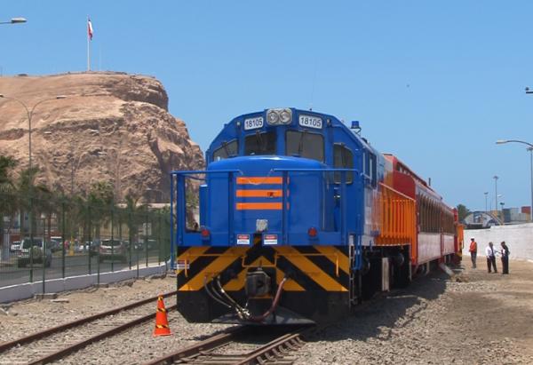 Ferrocarril Arica - La Paz Cuenta con dos Nuevas y Modernas Locomotoras