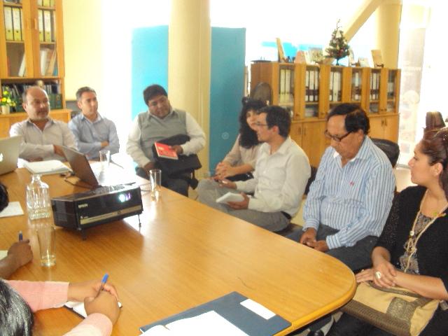 Cores de Comisiones de Identidad y Patrimonio   plantearon Inquitudes a Centro de investigación del Hombre del Desierto CIHDE
