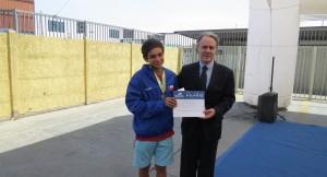Puerto Arica premió a Deportistas de Elite de la Región