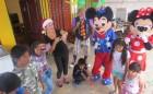 Felices los Niños de la comuna de Camarones en su Fiesta Navideña