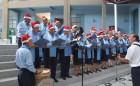 Coro de Adultos Mayores entregó saludo navideño en la Municipalidad de Arica
