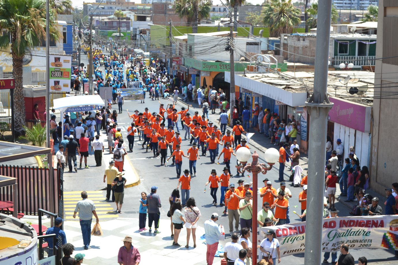 "Exitoso Convite del Carnaval Andino ""Con la Fuerza del Sol"""