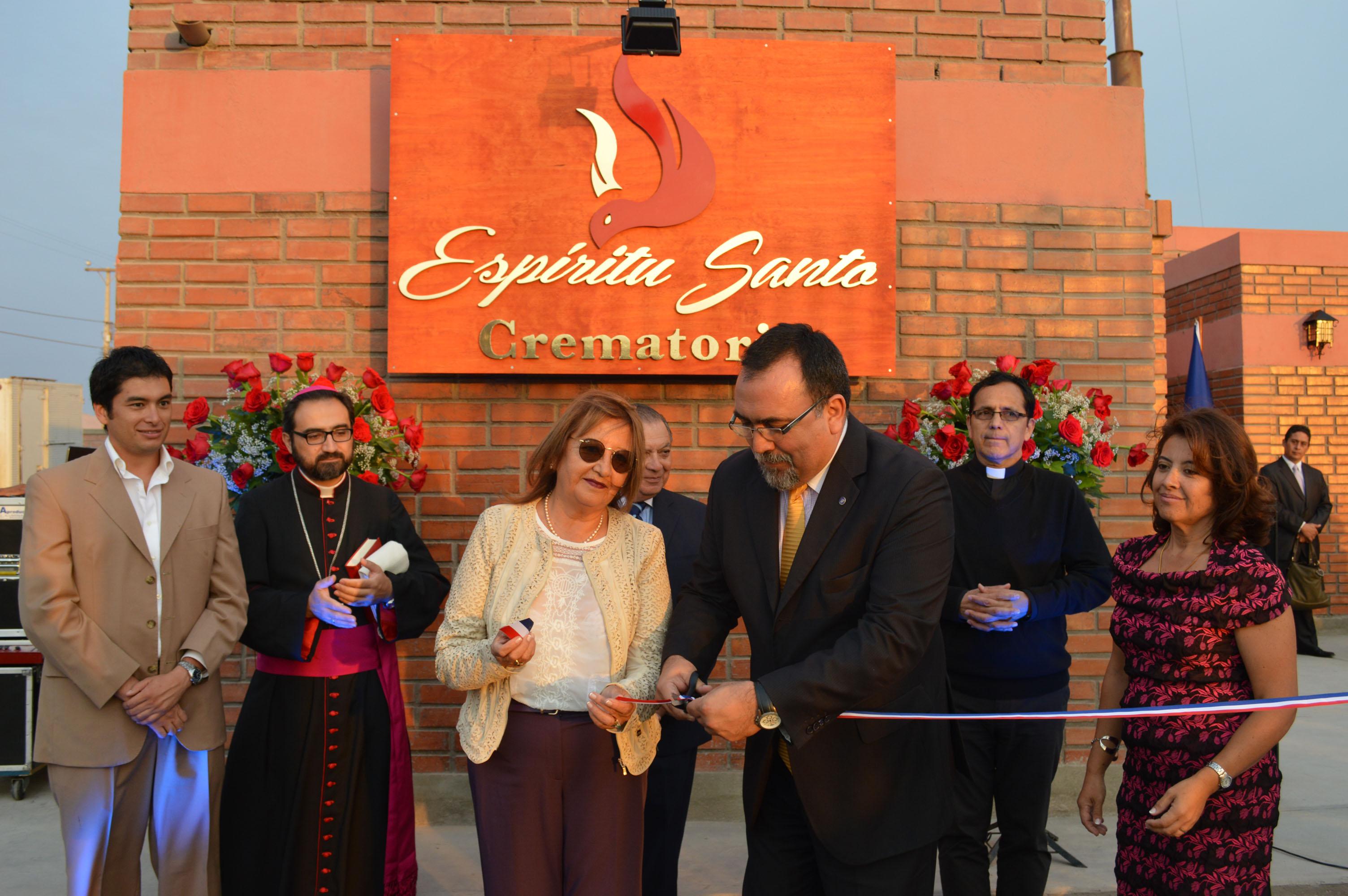 Inauguran Primer Crematorio en Arica