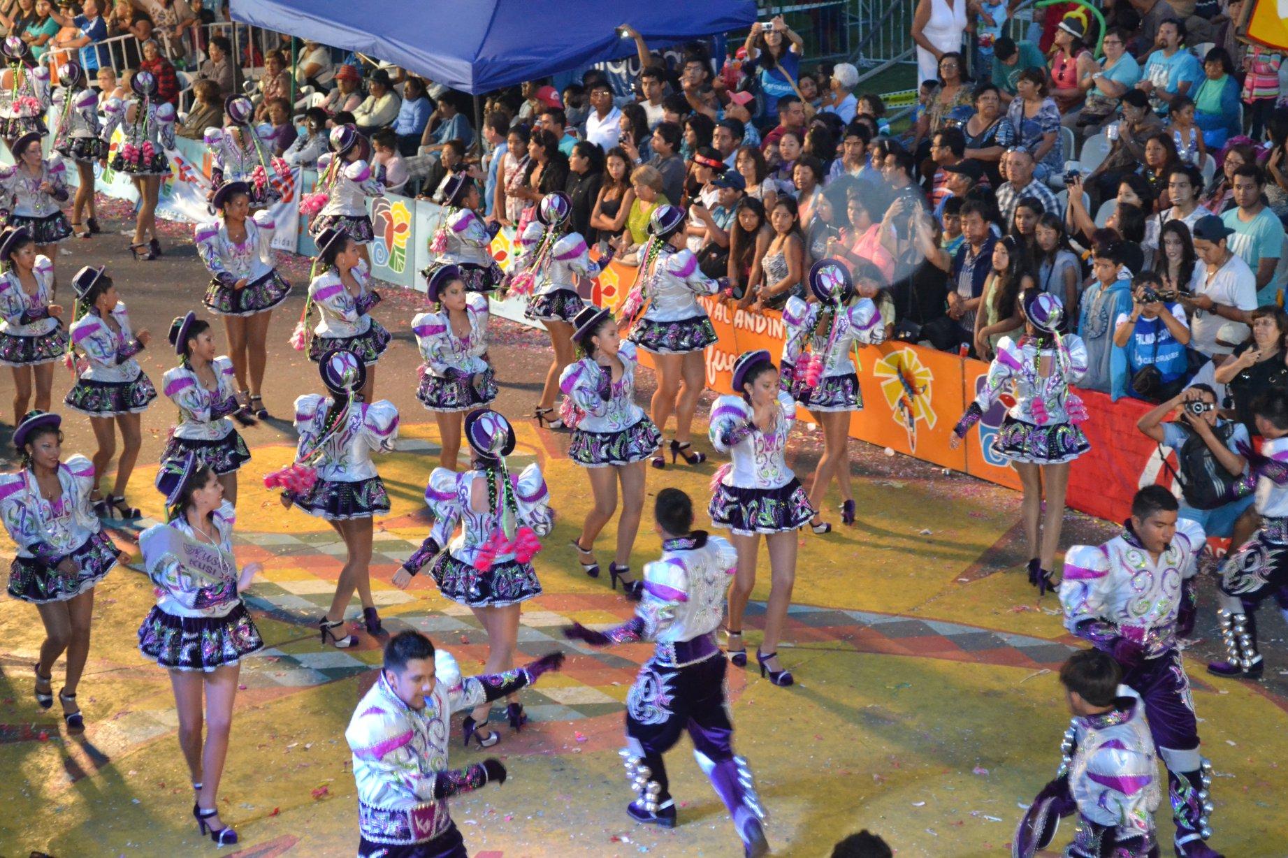 Positivo Balance deja El Carnaval Andino 2015