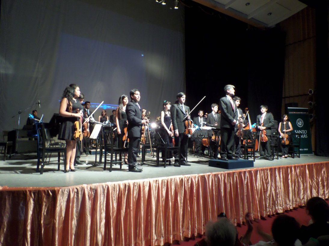 Impecable Presentación de Orquesta Filarmónica de Temporada  en Arica