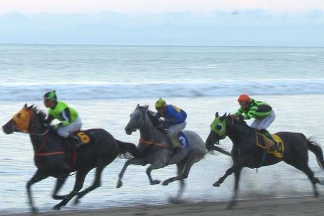 Único en Latinoamerica : Total Éxito de Derby Beach  Chinchorro