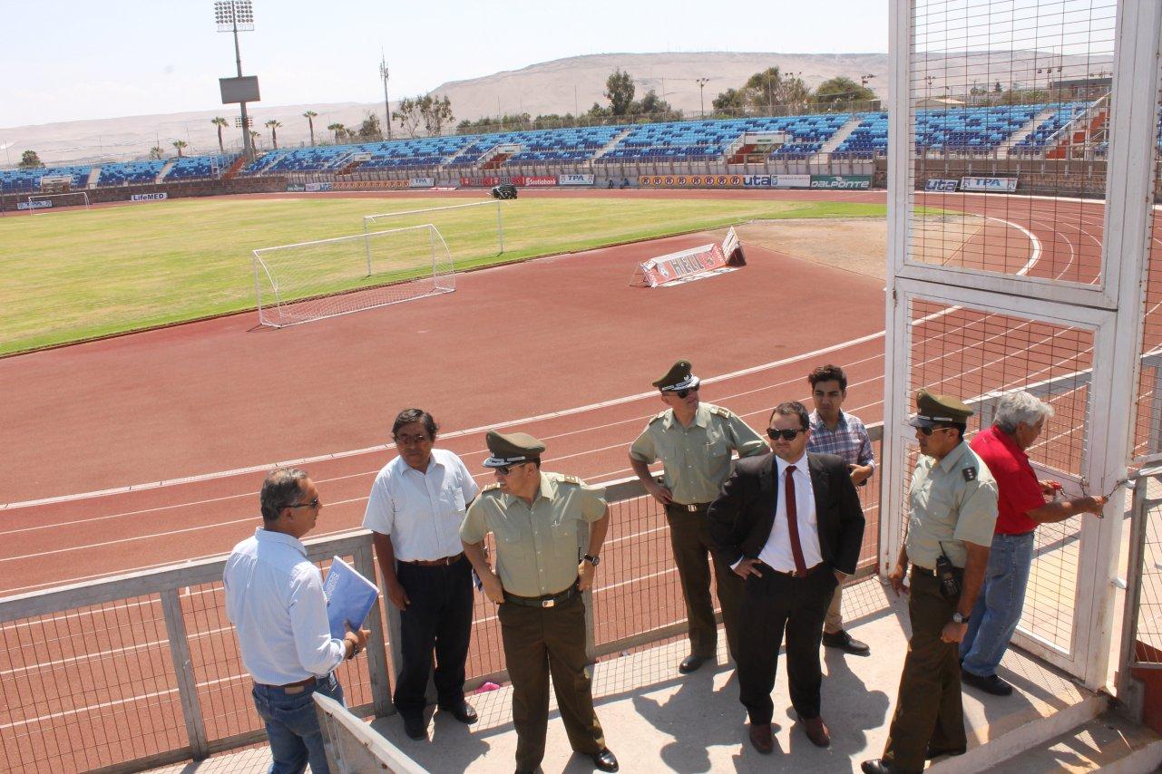 Estadio Seguro: 9 mil Hinchas podrán ver Partido entre San Marcos de Arica y Universidad de Chile