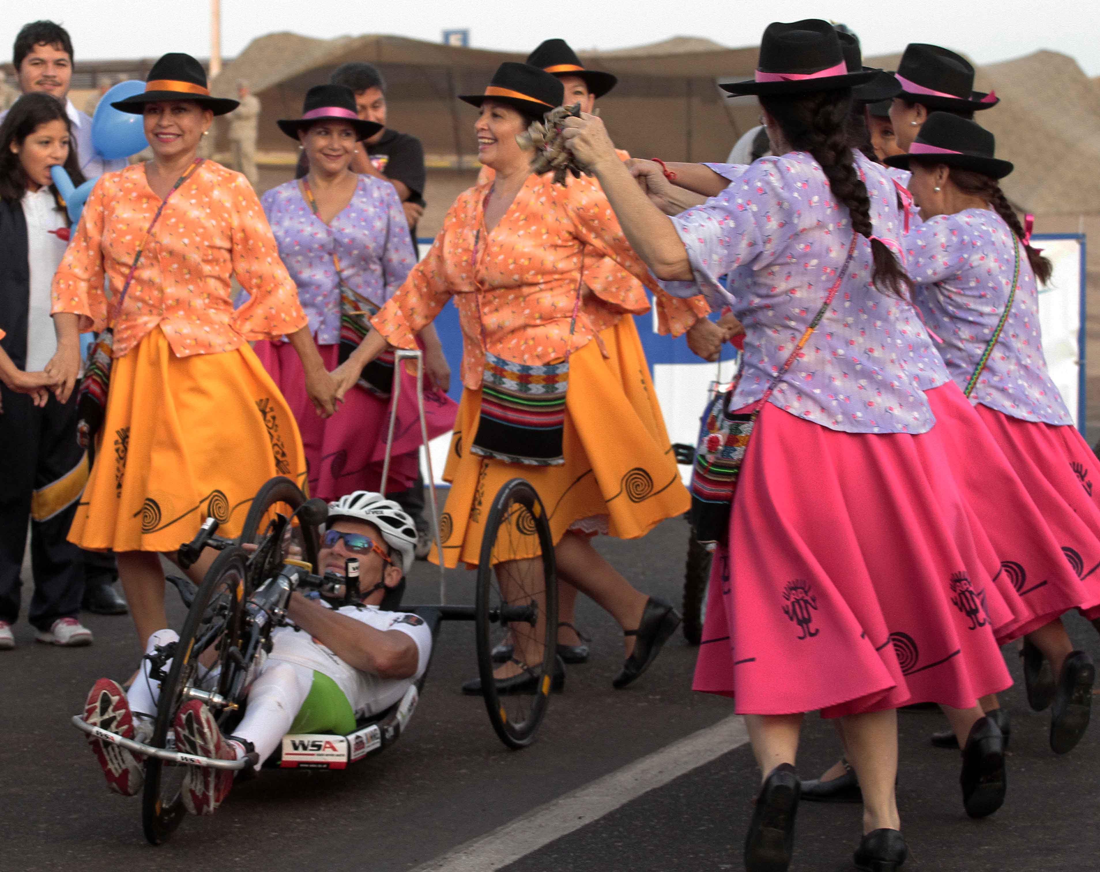 Austriaco Paratleta Unirá el Norte con su Handbike