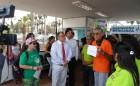 Manifestantes por la Legalización del Cultivo de la Marihuana, entregaron Carta a Intendente