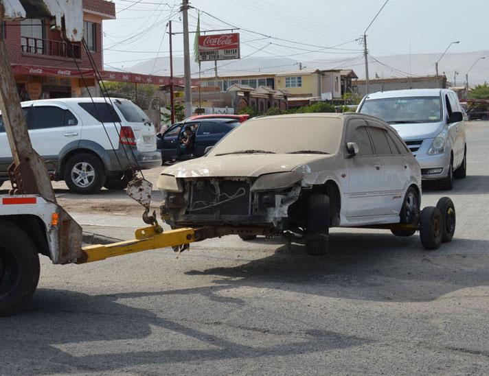 Vehículos Abandonados en la Vía Pública Con los Días Contados