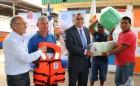 Pescadores Artesanales Reciben más de 50 Millones de Pesos en Implementación