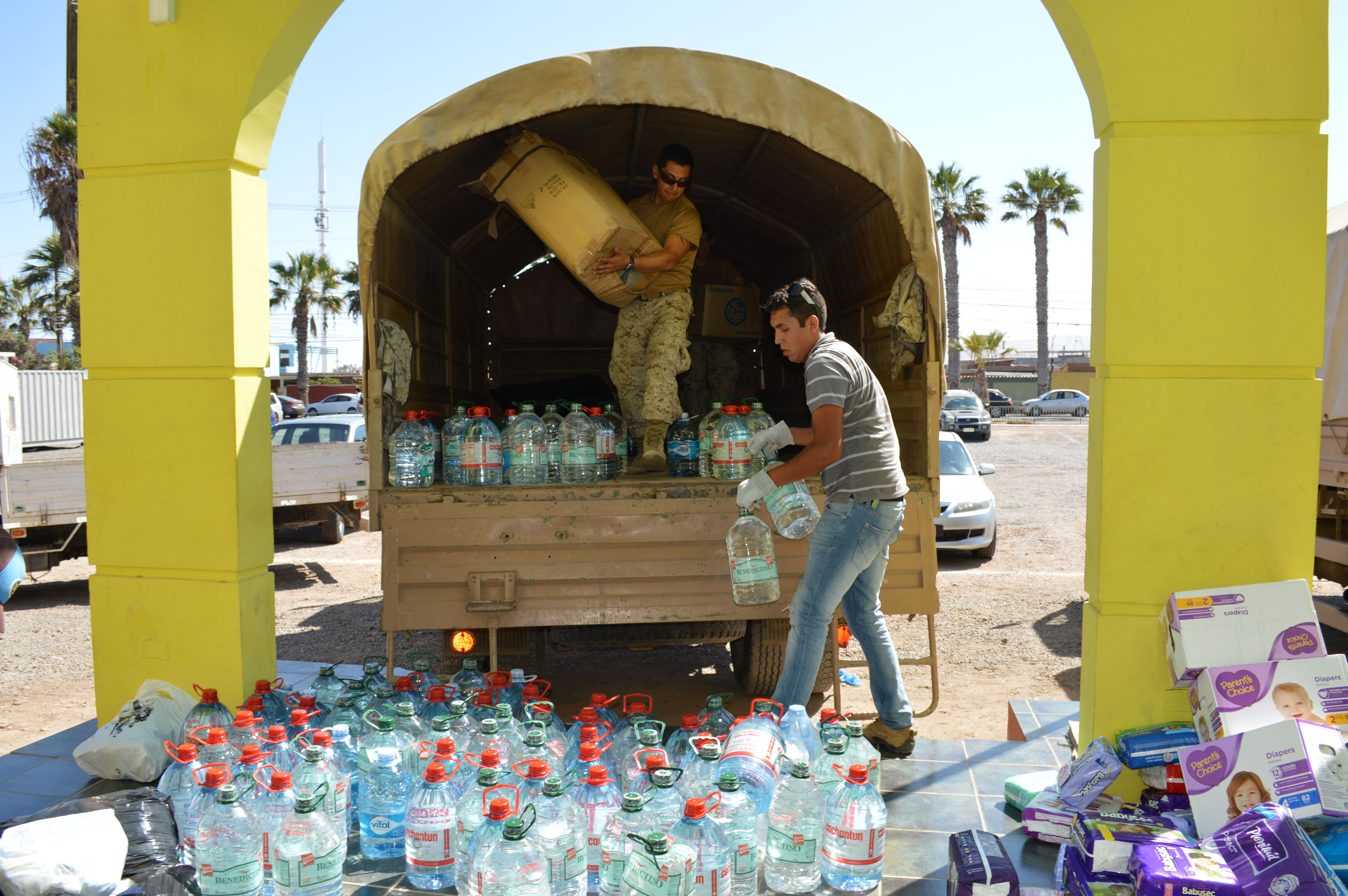 Hasta el Mediodía de Hoy, se Recibirá Ayuda  solidaria para damnificados por aluviones