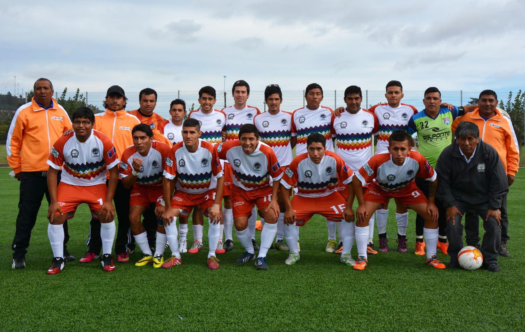 Aymaras ya están en la final del Wallmapu 2015, Campeonato Nacional de Futbol de Pueblos Originarios