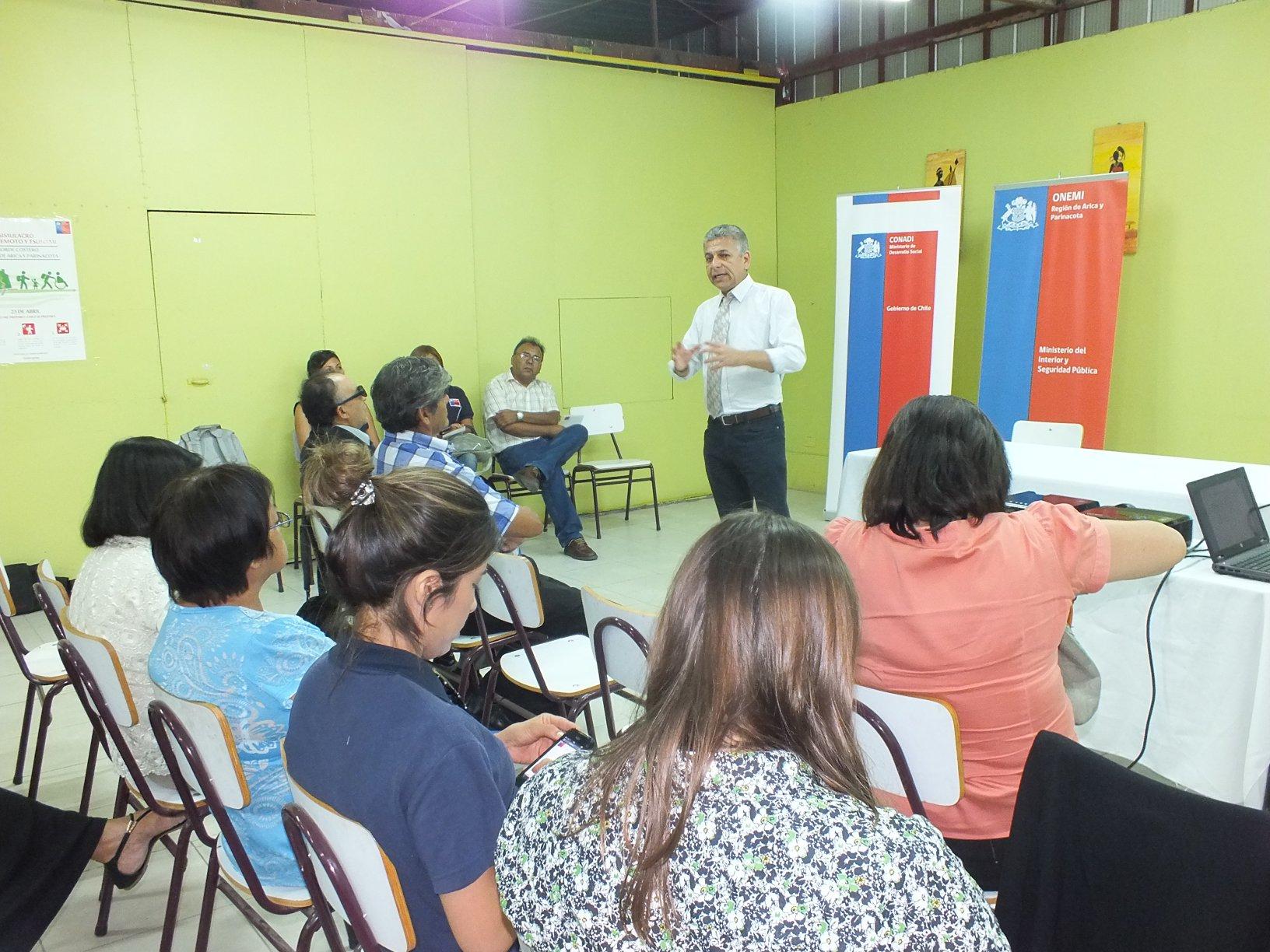 Organizaciones de personas con discapacidad participan en diálogos sociales