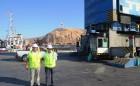 Consejero de Sistema de Empresas Públicas SEP Juan Carlos Latorre Visitó Puerto Arica