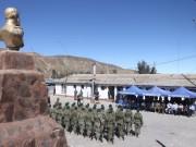 Comunidad de Putre rinde honores a las Glorias Navales