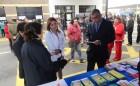 Prevención sin fronteras: Equipos de Salud de Arica y Tacna  entregaron información a viajeros en Complejo Chacalluta