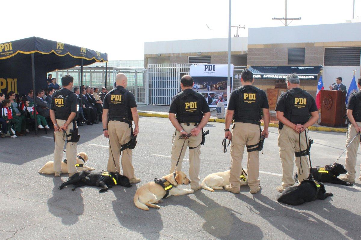 Canes de la PDI Fallecidos en Actos de Servicio Reciben  Merecido Homenaje
