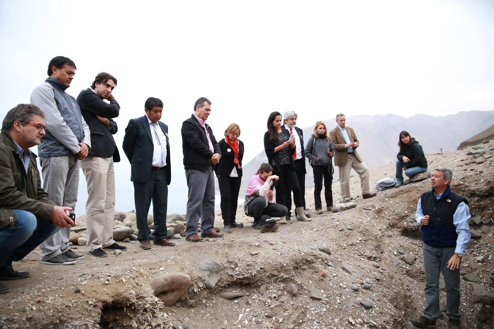 Diputados comprometen su apoyo a la Cultura Chinchorro en Caleta  Camarones