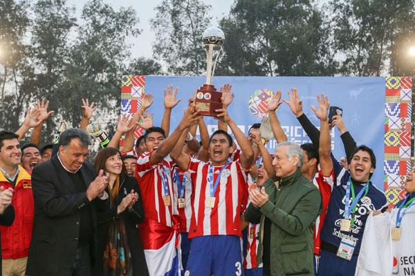 En el Estadio Municipal de Peñalolen se disputaron los partidos finales de la Copa Americana de Pueblos Indígenas.