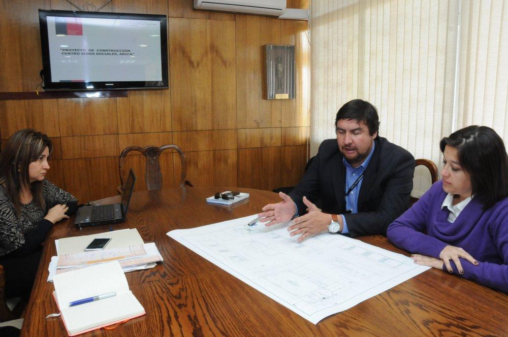 Preparan Construcción de 4 Modernas Sedes Vecinales en Arica