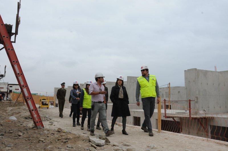 Avanza la Construcción de 120 viviendas en el Sector Norte de la Ciudad