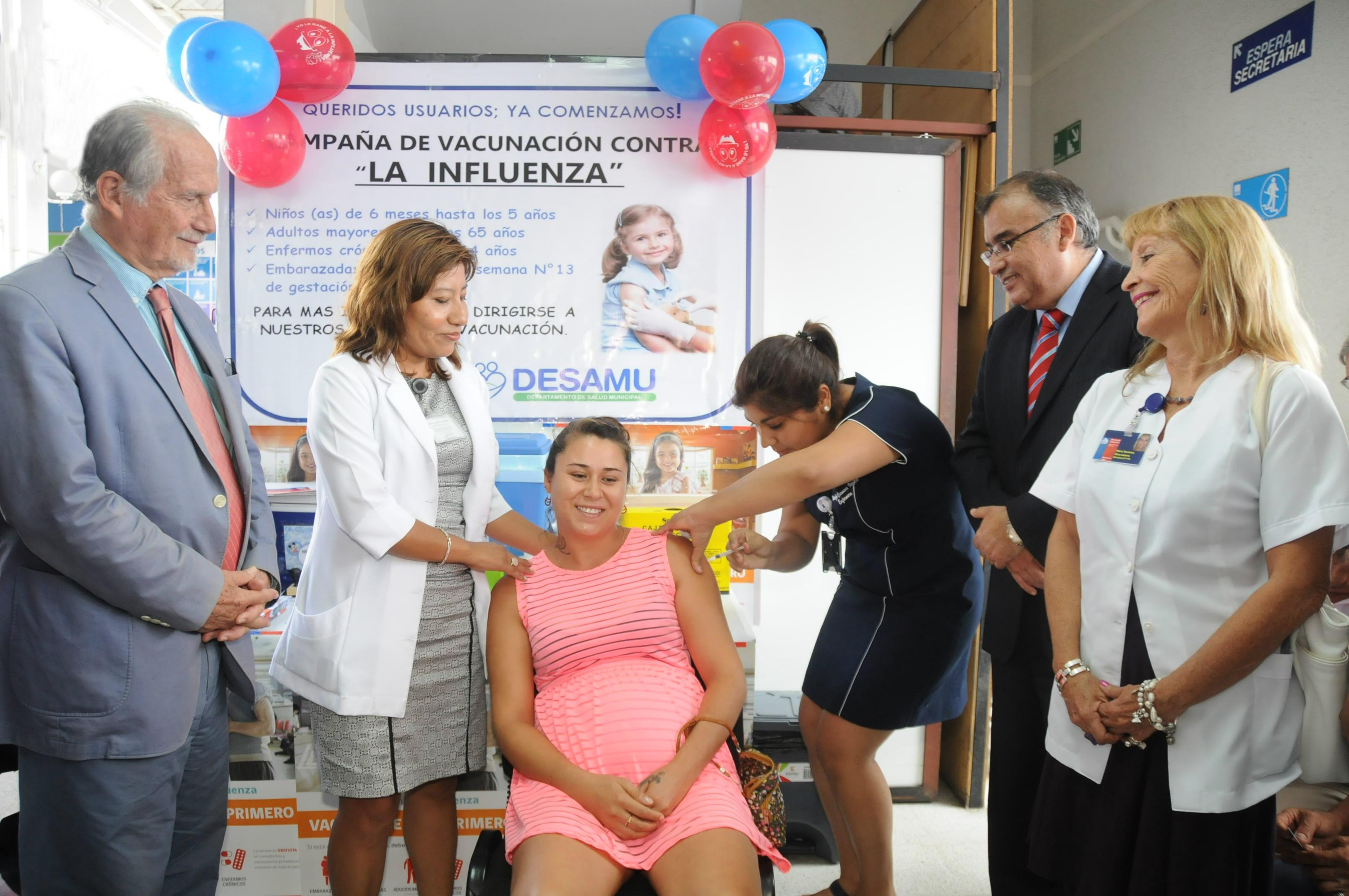 Vacunación Gratuita contra Influenza  se  Extenderá hasta el Viernes