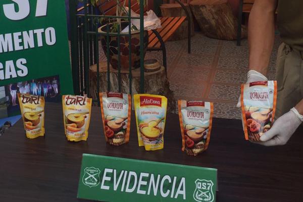 COCAINA EN SACHET DE CREMAS MARCA ALACENA ARICA_1