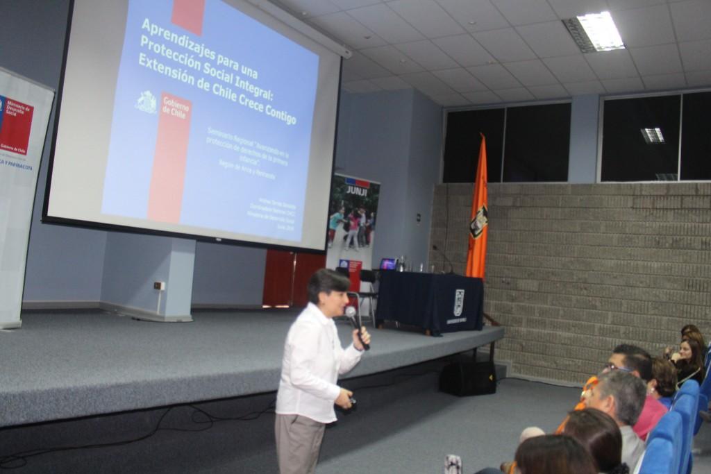 Andrea Torres Sanssotta, Coordinadora Nacional Chile Crece Contigo.