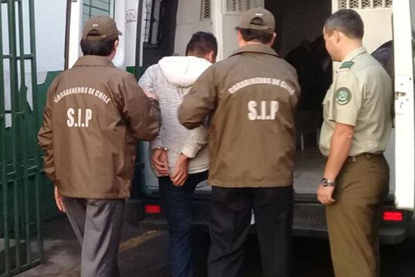 DETENIDO AUTOR HOMICIDIO LOS INDUSTRIALES EL FOSTERO SIP TERCERA ARICA (1)