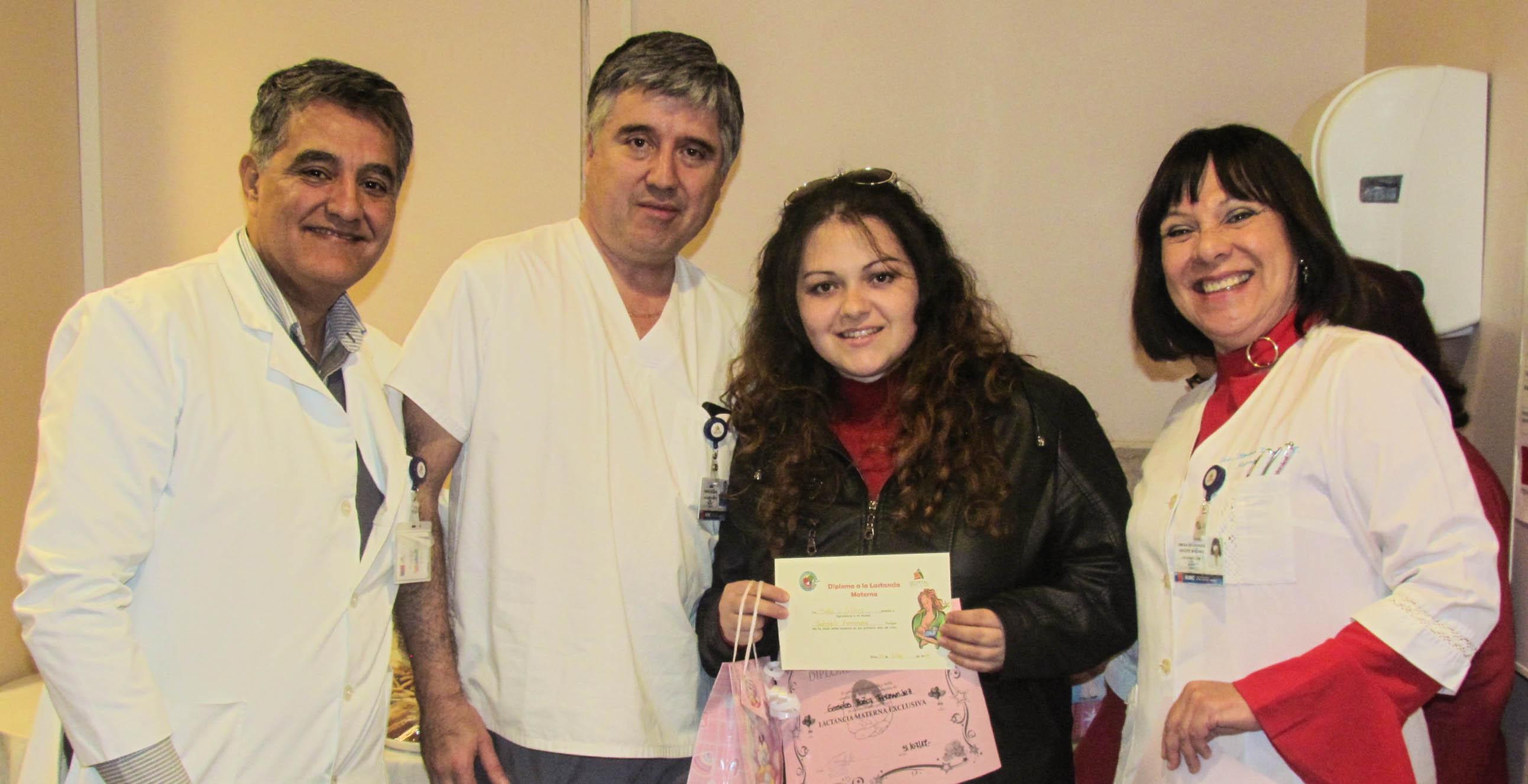 3107 Mamás fueron destacadas en el Hospital de Arica en conmemoración de la Semana Mundial de la Lactancia Materna